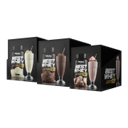 BEST WHEY ISO DISPLAY 15 SACHÊS  TODOS OS SABORES