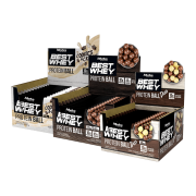 BEST WHEY PROTEIN BALL DISPLAY 12 SACHÊS  TODOS SABORES