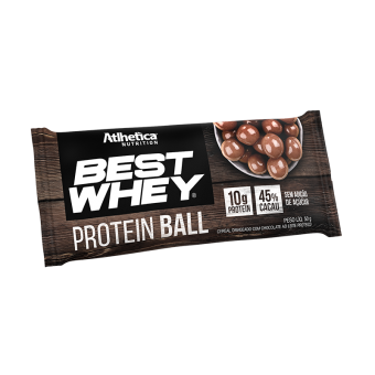 BEST WHEY PROTEIN BALL | CHOCOLATE AO LEITE (1 UNIDADE)