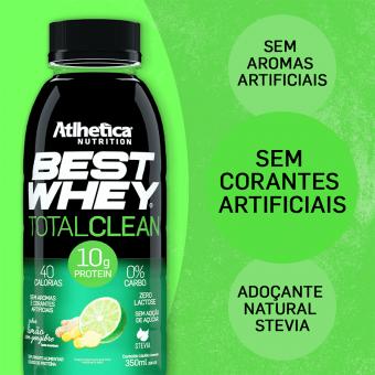 BEST WHEY TOTAL CLEAN | LIMÃO COM GENGIBRE (350ml)