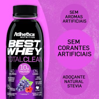 BEST WHEY TOTAL CLEAN | UVA COM HIBISCO (350ml)