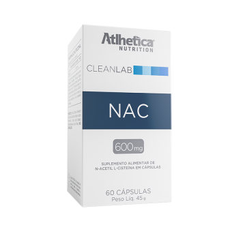 NAC   N-ACETYL-L-CYSTEINE 600MG (60 CÁPSULAS)