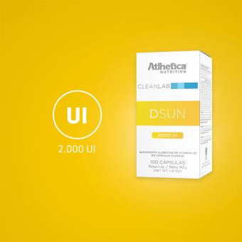 DSUN | 2000 UI = 1 SOFTGEL (100 SOFTGEL )