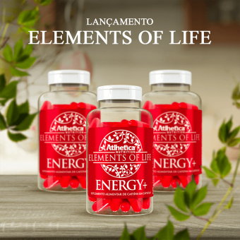 ELEMENTS OF LIFE® | ENERGY+ (60 CÁPSULAS)