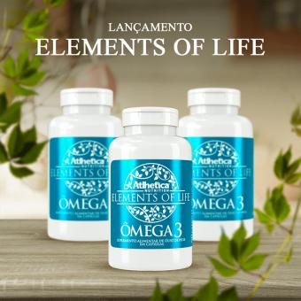 ELEMENTS OF LIFE® | ÔMEGA 3 (60 CÁPSULAS)