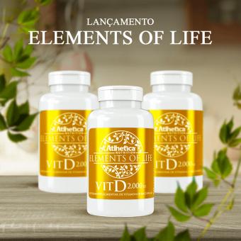 ELEMENTS OF LIFE® | VIT D 2000 UI (60 CÁPSULAS)