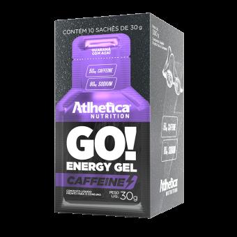 GO! ENERGY GEL CAFFEINE | GUARANÁ COM AÇAÍ (DISPLAY 10 SACHÊS)
