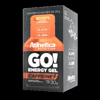 GO! ENERGY GEL CAFFEINE | LARANJA COM ACEROLA (DISPLAY 10 SACHÊS)