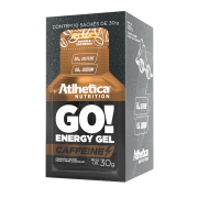 GO! ENERGY GEL CAFFEINE DISPLAY COM 10 SACHÊS DOUBLE ESPRESSO