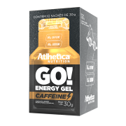 GO! ENERGY GEL CAFFEINE DISPLAY COM 10 SACHÊS SALTED CARAMEL
