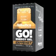 GO! ENERGY GEL CAFFEINE DISPLAY COM 10 SACHÊS SALTED CARAMEL