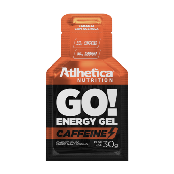 GO! ENERGY GEL CAFFEINE | LARANJA COM ACEROLA (1 UNIDADE)