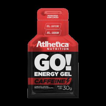 GO! ENERGY GEL CAFFEINE | MORANGO COM LIMÃO (1 UNIDADE)