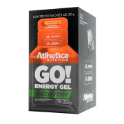 GO! ENERGY GEL DISPLAY COM 10 SACHÊS LARANJA COM ACEROLA