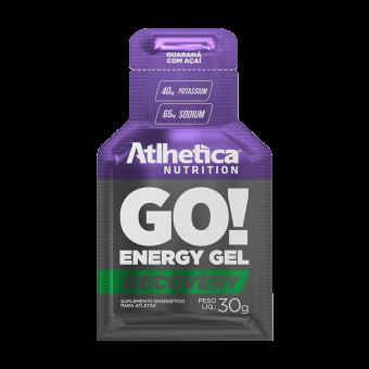 GO! ENERGY GEL RECOVERY | GUARANÁ COM AÇAÍ (1 UNIDADE)