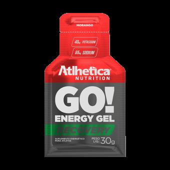 GO! ENERGY GEL RECOVERY | MORANGO (1 UNIDADE)