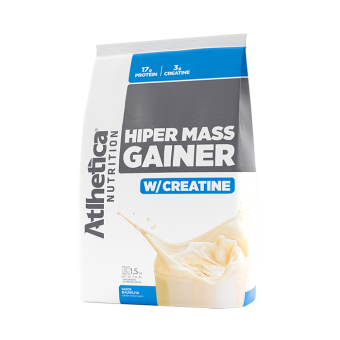 HIPER MASS GAINER W/ CREATINE | BAUNILHA (1,5KG)
