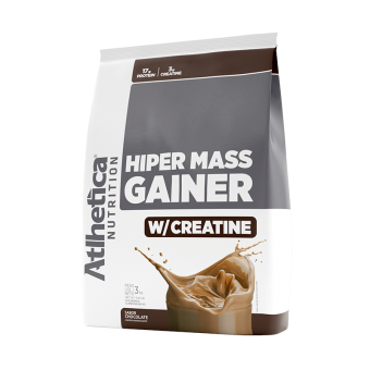 HIPER MASS GAINER W/ CREATINE | CHOCOLATE (3KG)