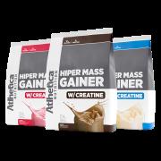 HIPER MASS GAINER W/ CREATINE 3KG  TODOS SABORES