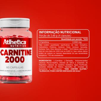 LCARNITINE 2000   (60 CÁPS)