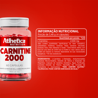 LCARNITINE 2000 | (60 CÁPS)