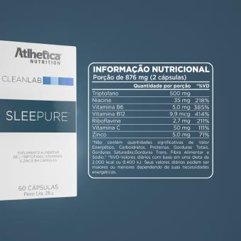 SLEEPURE   (60 CÁPSULAS)
