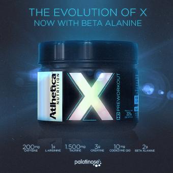 X HD PREWORKOUT  BLUE ICE (225G)