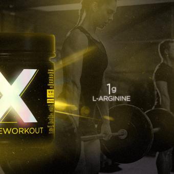 X HD PREWORKOUT |CITRUS PUNCH (450G)