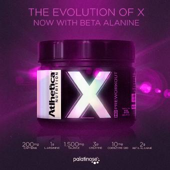 X HD PREWORKOUT |PINK LEMONADE (225G)