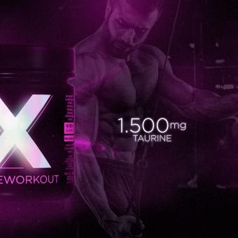 X HD PREWORKOUT |PINK LEMONADE (450G)