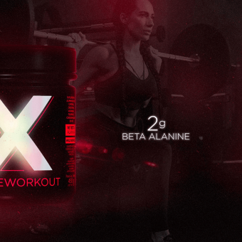 X HD PREWORKOUT|WILD BERRIES (450G)