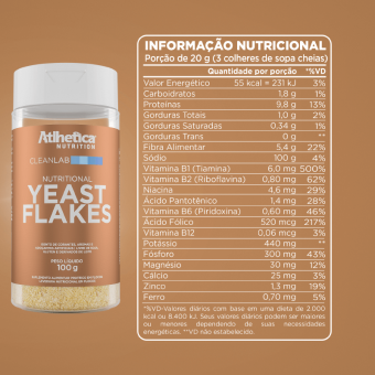 YEAST FLAKES (100G)