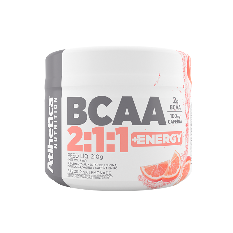 BCAA 2:1:1 +ENERGY | PINK LEMONADE (210G)