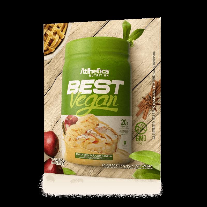 BEST VEGAN | TORTA DE MAÇÃ COM CANELA (1 UNIDADE)