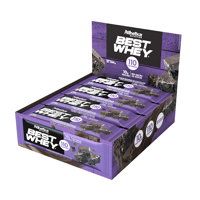 BEST WHEY BAR | BROWNIE CHOCOLATE (DISPLAY 12 UNIDADES)
