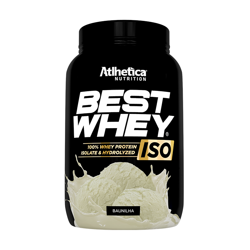 BEST WHEY ISO | BAUNILHA (900G)