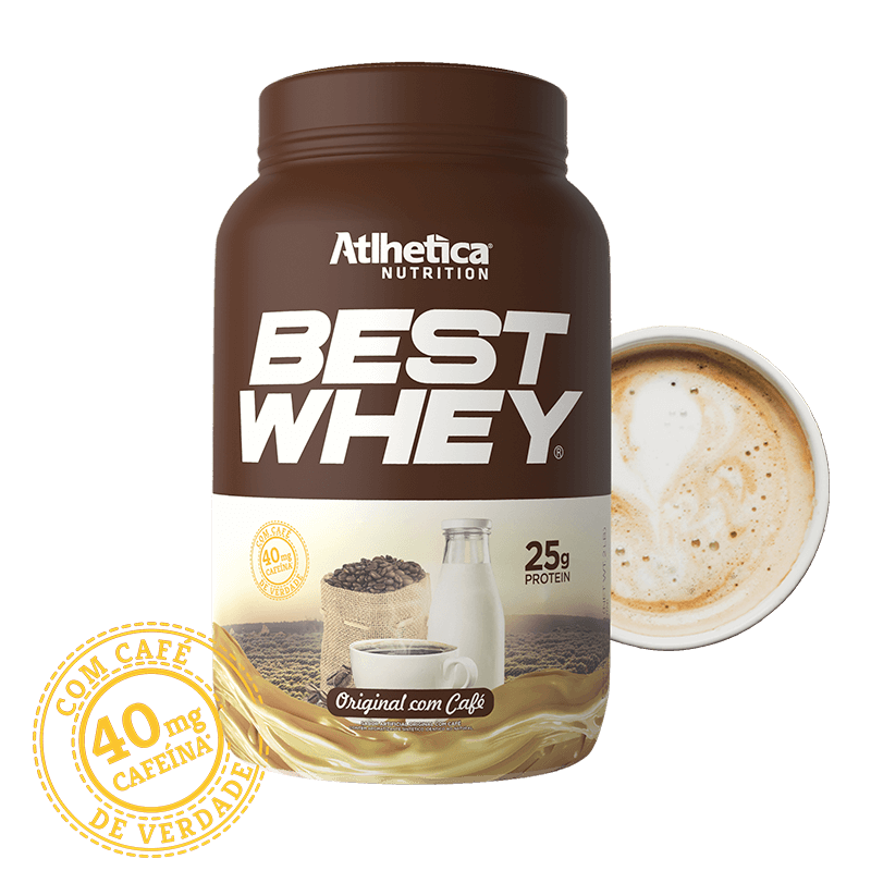 BEST WHEY | ORIGINAL E CAFÉ (900G)