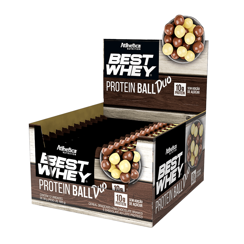 BEST WHEY PROTEIN BALL | DUO (DISPLAY 12 UNIDADES)