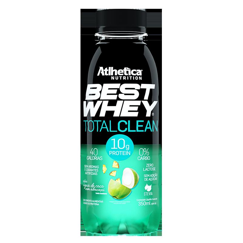 BEST WHEY TOTAL CLEAN | ÁGUA DE COCO COM ABACAXI (350ml)