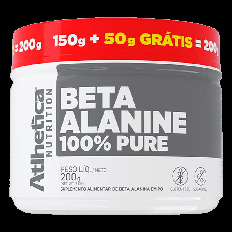 BETA ALANINE 100% PURE   200g (150g + 50g GRÁTIS)