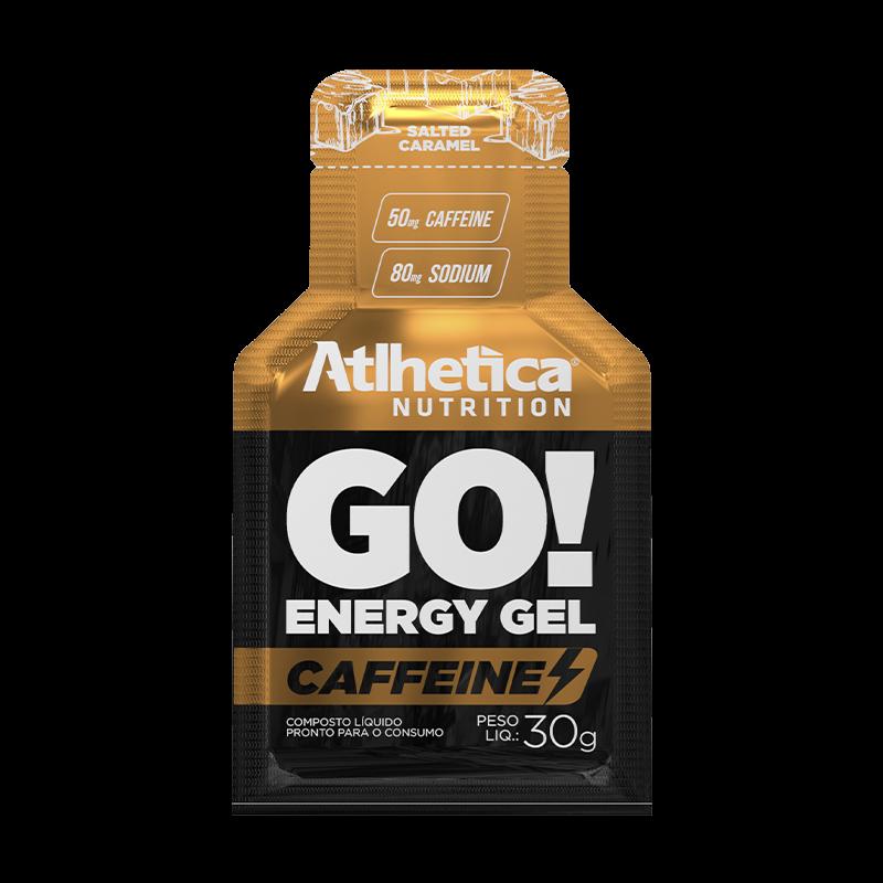 GO! ENERGY GEL CAFFEINE | SALTED CARAMEL (1 UNIDADE)