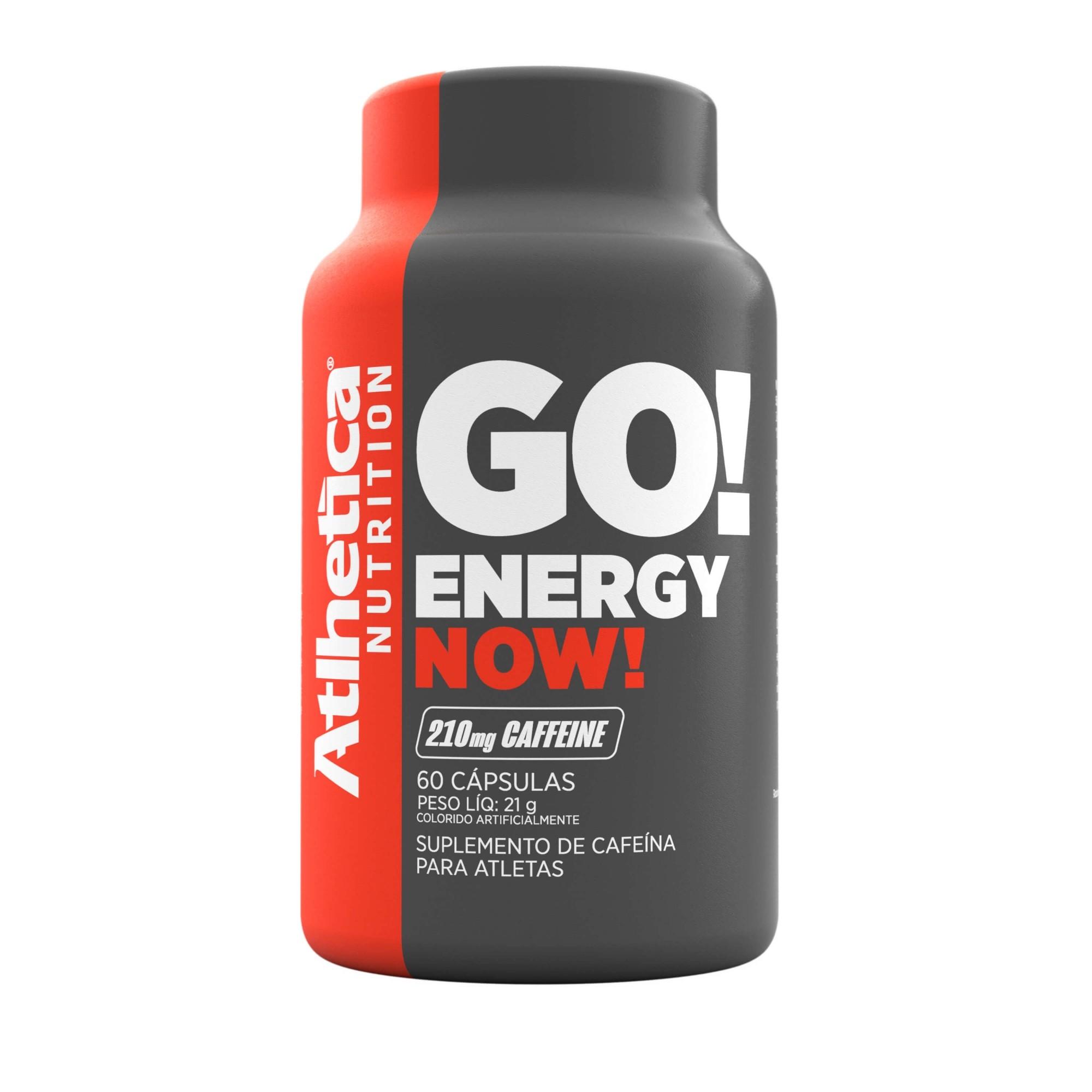 GO! ENERGY NOW | (60 CÁPSULAS)