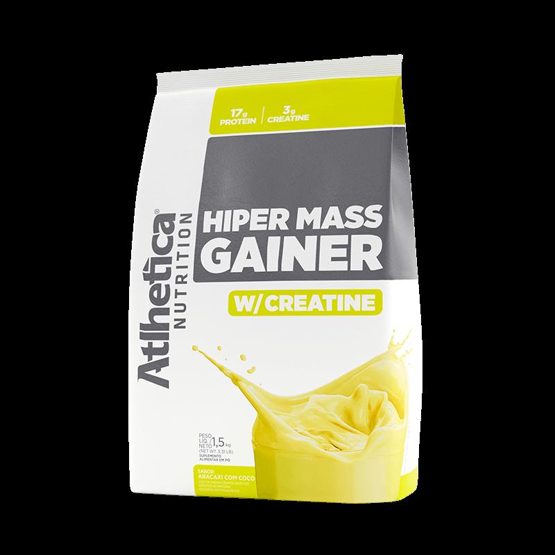 HIPER MASS GAINER W/ CREATINE | ABACAXI COM COCO (1,5KG)