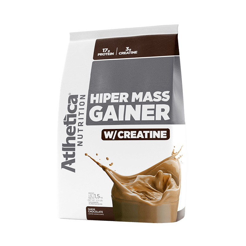 HIPER MASS GAINER W/ CREATINE | CHOCOLATE (1,5KG)