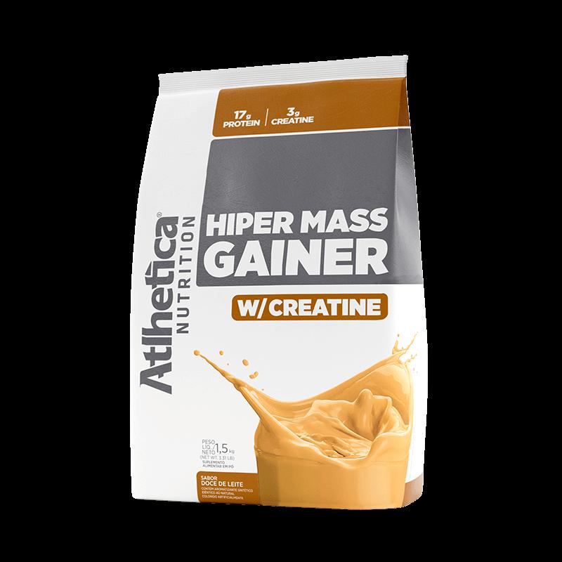 HIPER MASS GAINER W/ CREATINE | DOCE DE LEITE (1,5KG)