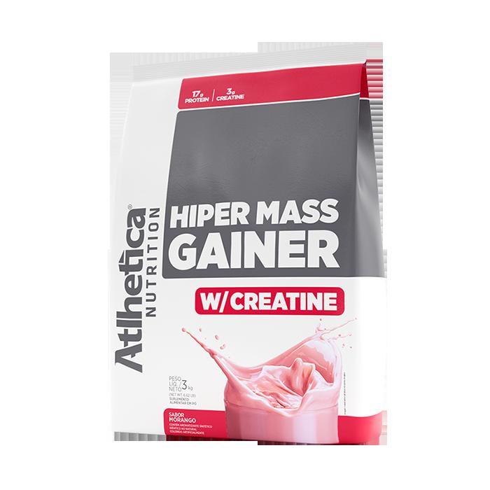 HIPER MASS GAINER W/ CREATINE | MORANGO (3KG)