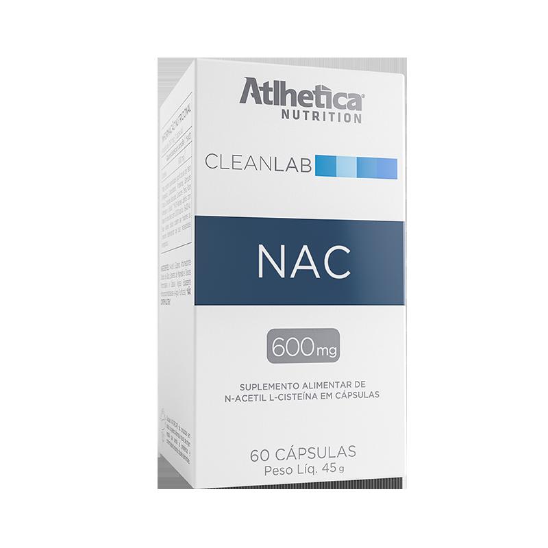 NAC | N-ACETYL-L-CYSTEINE 600MG (60 CÁPSULAS)