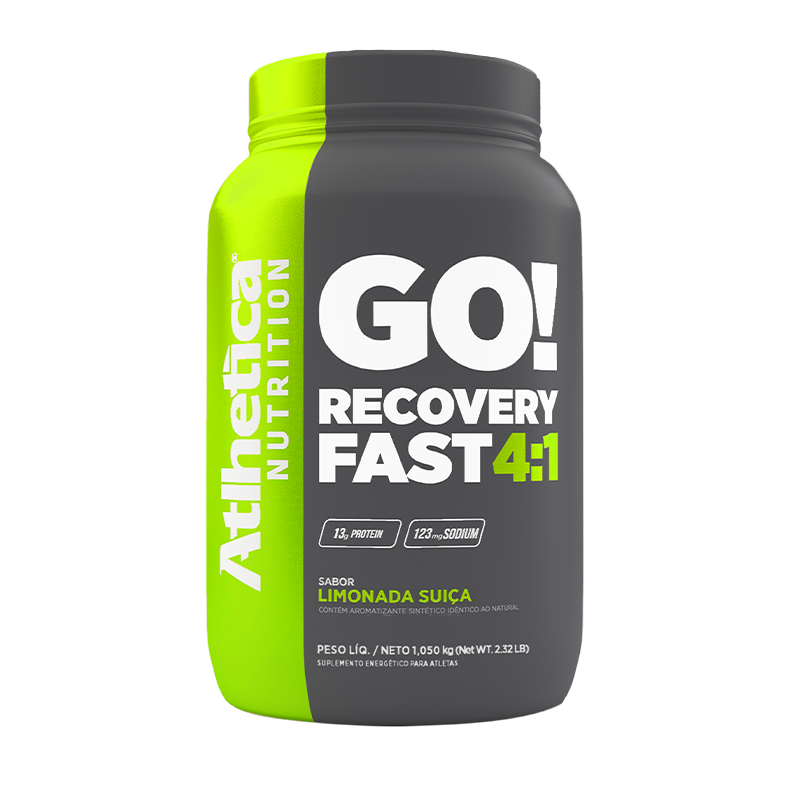 GO! RECOVERY FAST 4:1 | LIMONADA SUIÇA (1.050KG)
