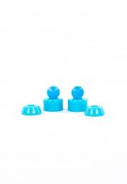Amortecedor Poliuretano Fundido Conico 9,5mm Cisco Skate - Azul Claro