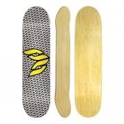 Shape Cisco Skate Marfim Logo Yellow 8.5